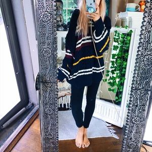 Sweaters - Tommy Hilfiger Chunky Indigo Cable Sweater B87